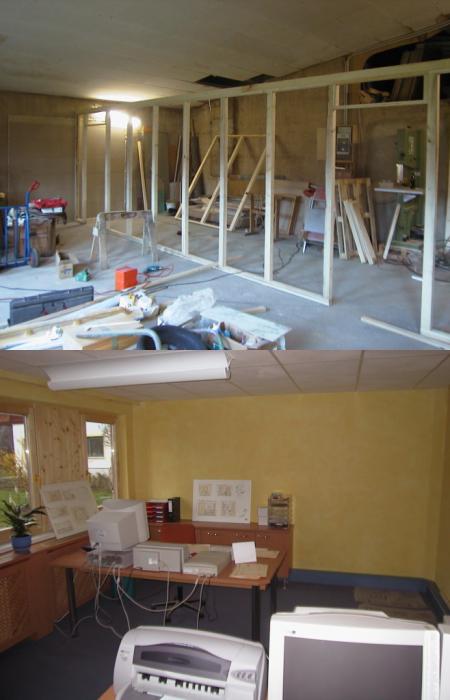 2000/01 Erfolgt der Zu- und Ausbau des Planungsbüros